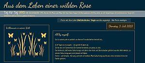 Aus dem Leben einer wilden Rose (Copyright: diewilderose.blogspot.de)